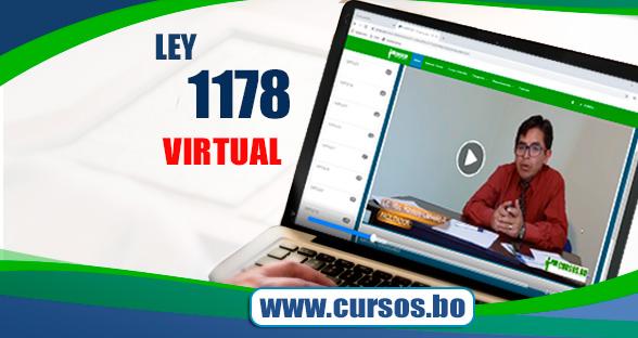 Curso Ley 1178 SAFCO y DS23318-A doble certificación