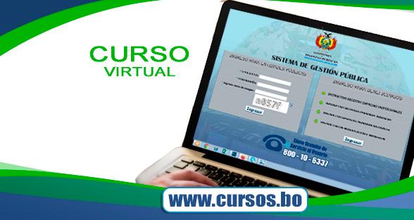 Curso Sistema de Gestión Pública SIGEP WEB virtual