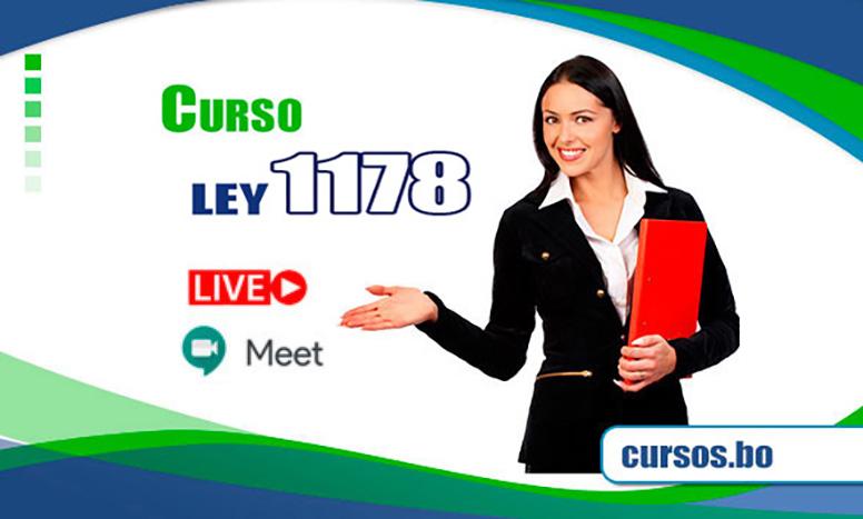 Cursos Ley 1178 SAFCO y DS23318-A doble certificación  (Google Meet EN VIVO🔴)