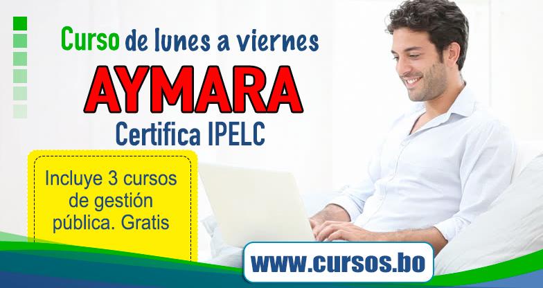 Cursos Curso Virtual Aymara Basico Certificacion Ipelc V12 On Line En Vivo